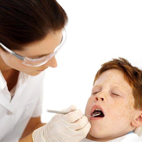 Having baby-teeth pulled